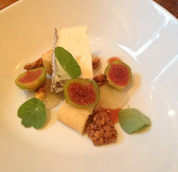 cheese and fig dessert